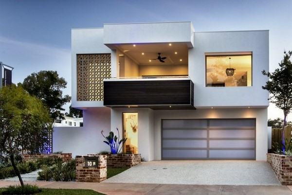 casas minimalistas de dos plantas