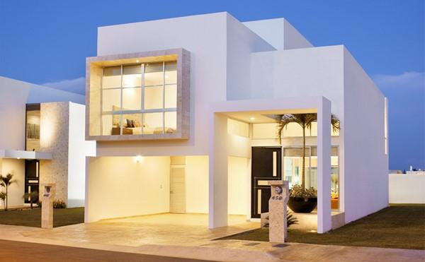 Casas minimalistas de dos plantas todo fachadas for Casas dos plantas minimalistas