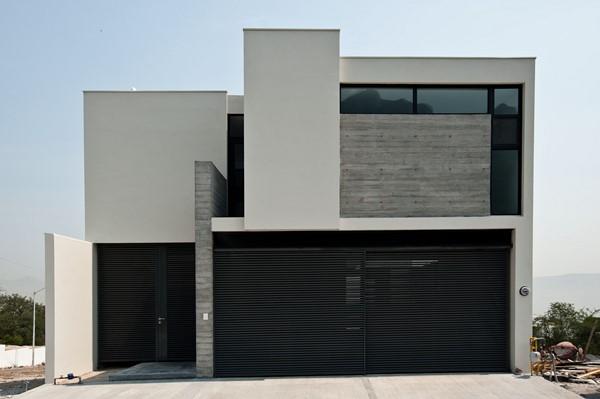 Casas minimalistas de dos plantas todo fachadas for Fachada minimalista una planta