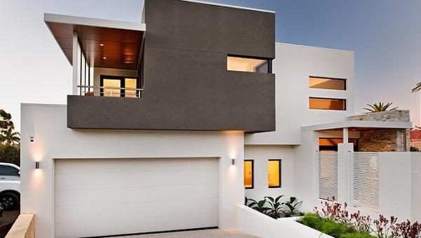 Casas minimalistas de dos plantas fachadas de casas for Casa minimalista dos plantas