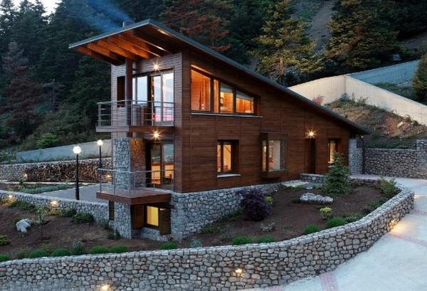 Fachadas r sticas con estilo todo fachadas for Fachadas de casas estilo rustico moderno