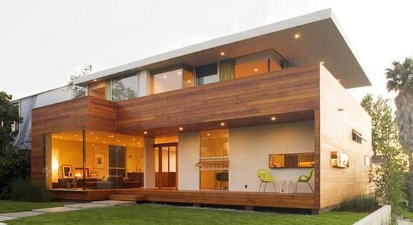 Asombrosas fachadas de casas prefabricadas fachadas de casas for Casas prefabricadas modernas