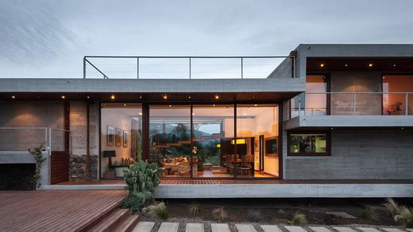 Bonitas y modernas fachadas de dos plantas todo fachadas for Fachadas casas dos plantas
