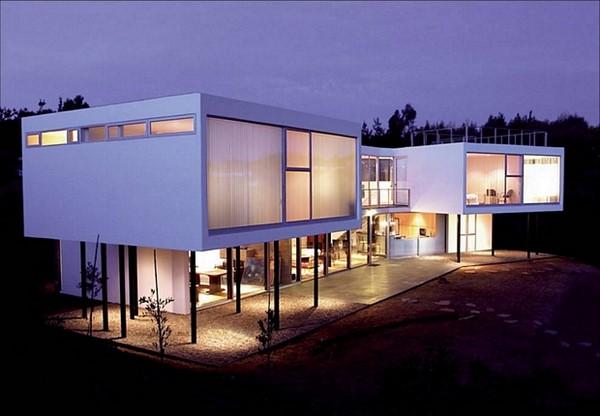 Nuevas fachadas minimalistas modernas todo fachadas for Nuevas fachadas minimalistas