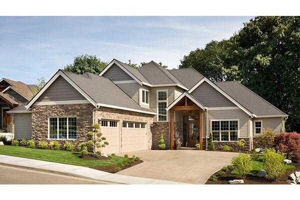 Cara a cara con el estilo americano fachadas de casas for Casas estilo americano