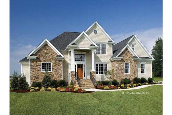 cara a cara con el estilo americano fachadas de casas