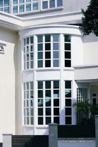 Diferentes dise os de ventanas y fachadas todo fachadas for Ventanas para fachadas de casas modernas