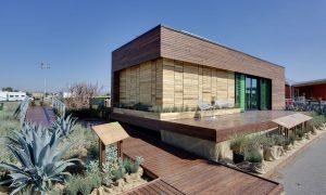 """Hermosa casa """"La Cosecha"""" construida y donada por DC Capitol  que aplica la vida sustentable"""