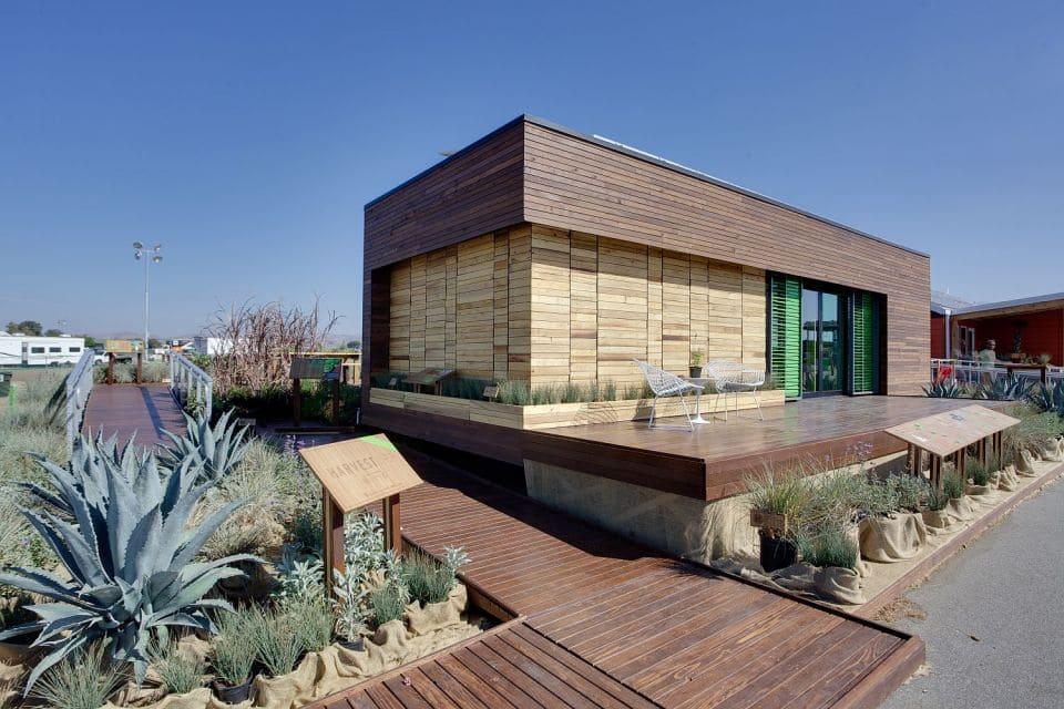 Casa prefabricada bonita