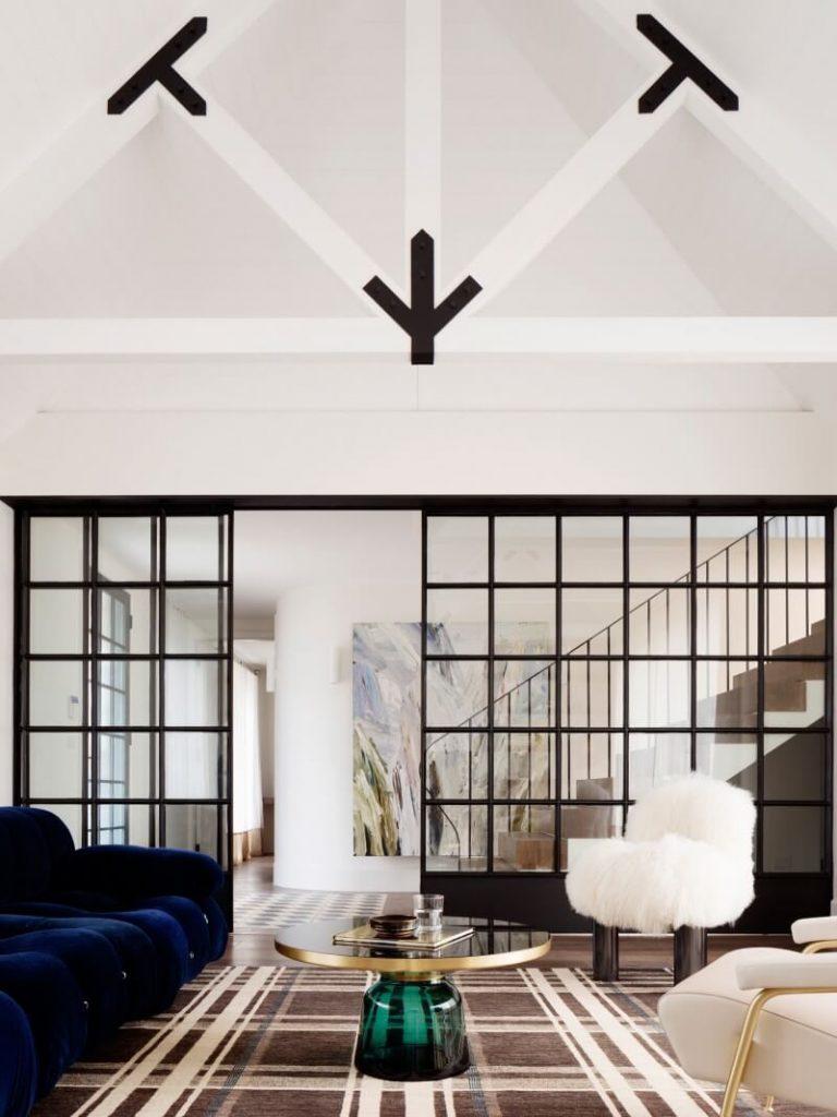 Hermoso diseño en la pared