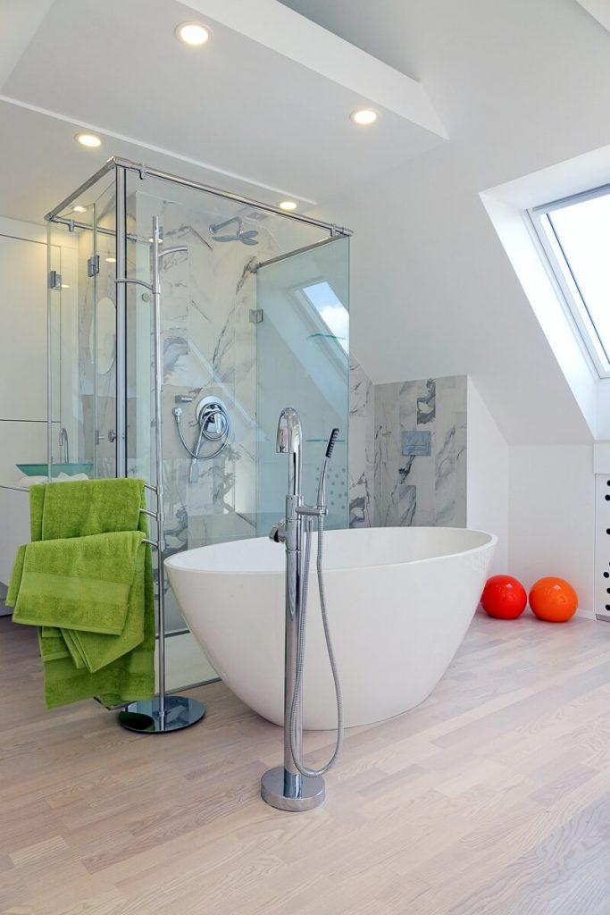 Bañera moderna