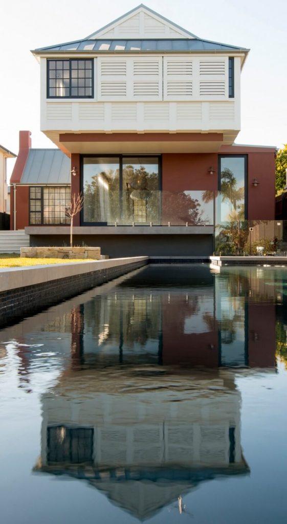 Casa moderna con alberca