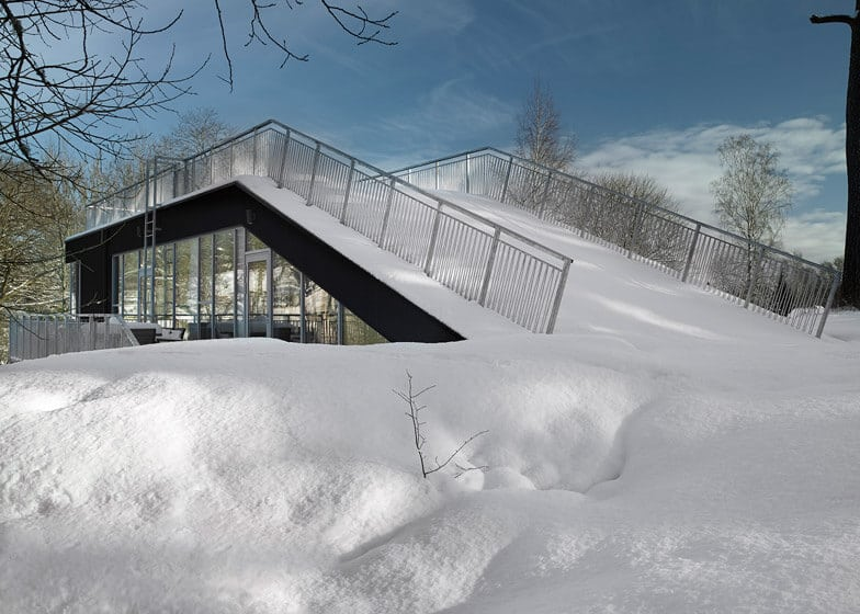 En medio de la nieve