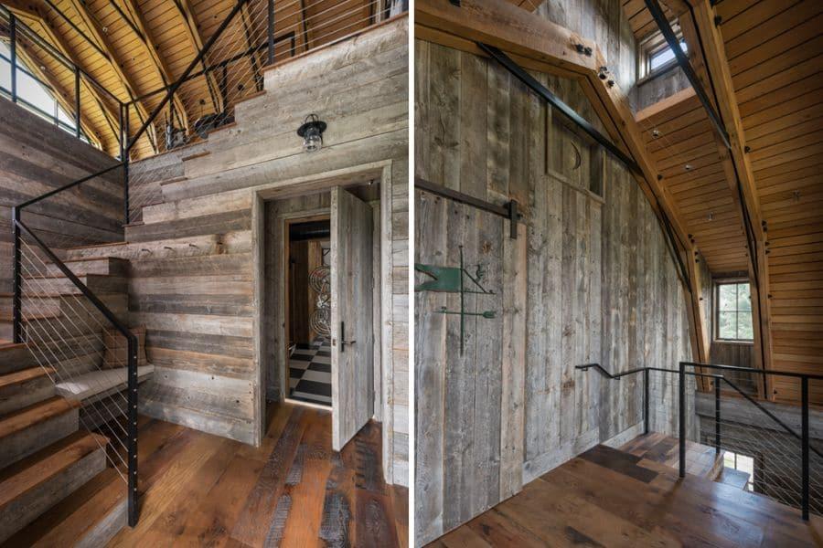 Diseño rústico en madera