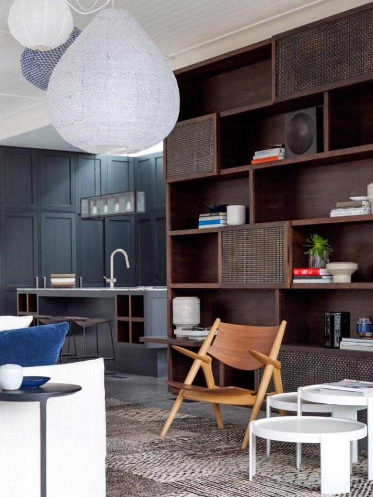Diseño de sala y muebles modernos