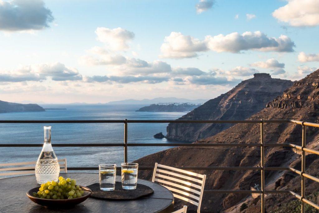 Restaurante al aire libre y terraza