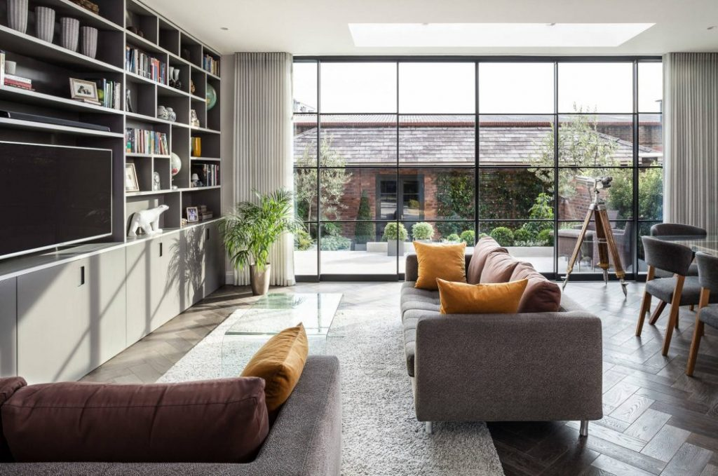 Grandes espacios y amplias ventanas