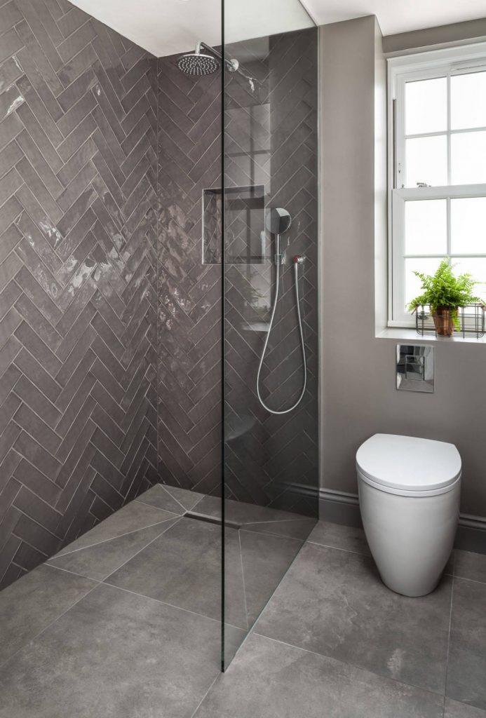 Baño moderno y minimalista