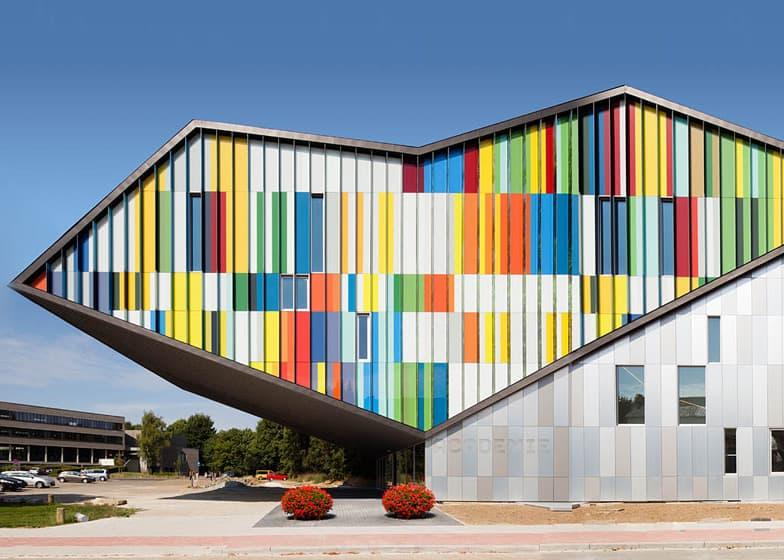 Fachadas Coloridas Para Inspirarte Y Salir De La Monoton 237 A