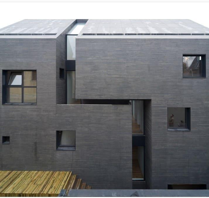 Innovadoras fachadas modernas de concreto todo fachadas - Materiales para fachadas de casas ...