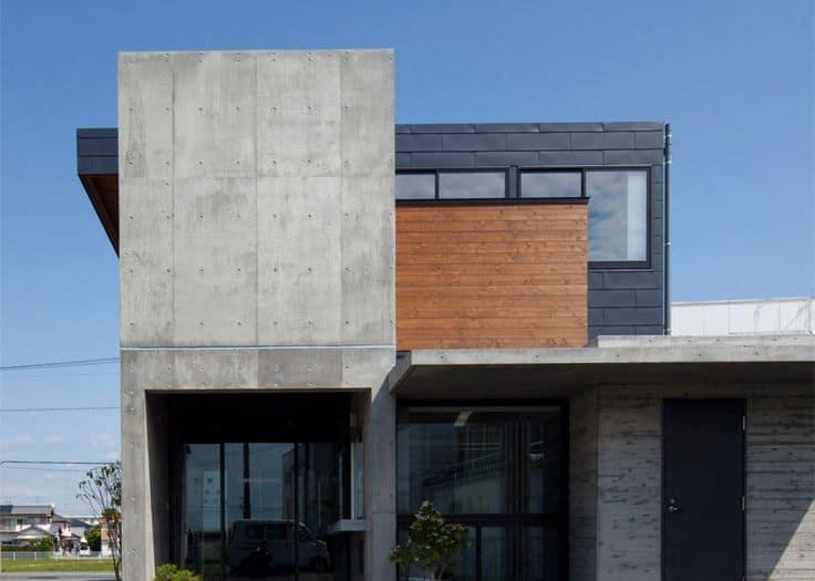 Innovadoras fachadas modernas de concreto todo fachadas for Casas de cemento
