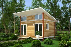 Fachadas simples: 13 modelos de casas bien logrados