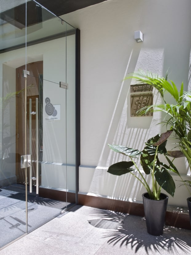Diseño con plantas por dentro