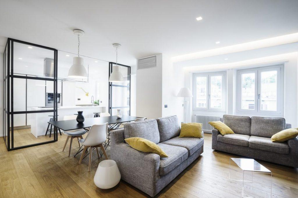 Moderno hogar amplio
