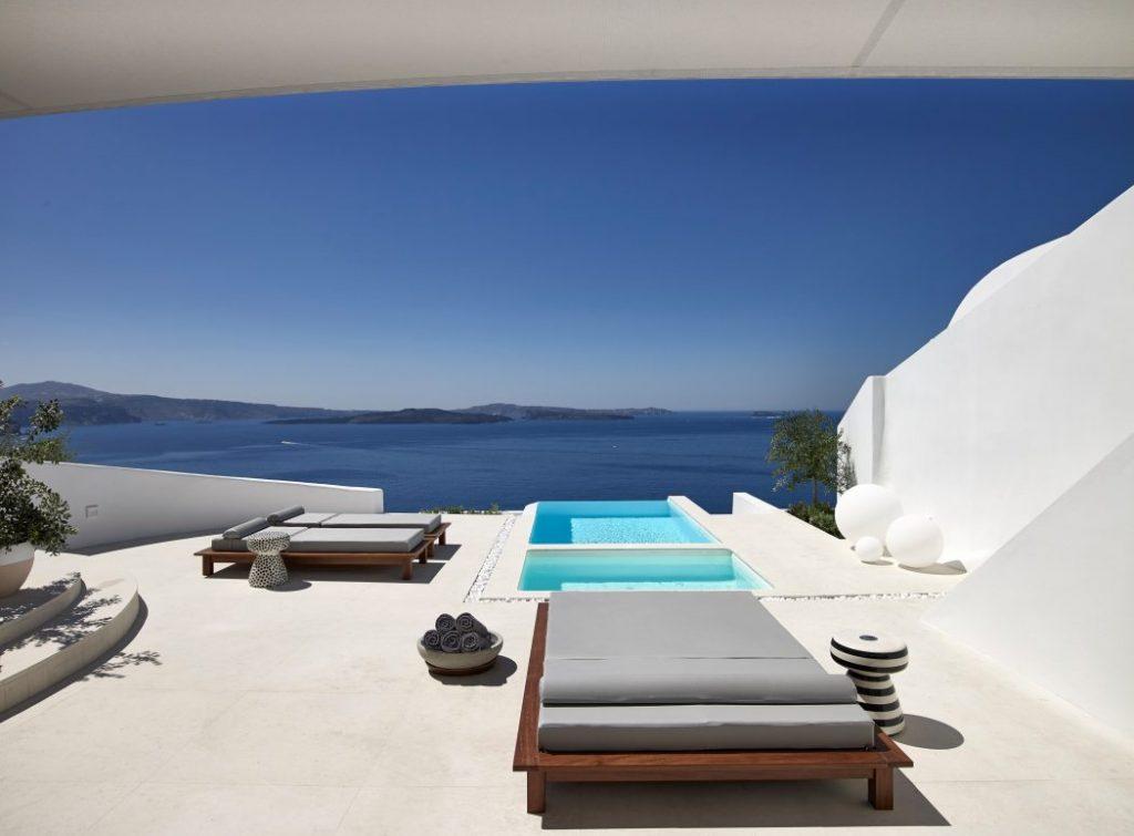 Hermoso diseño de terraza moderno
