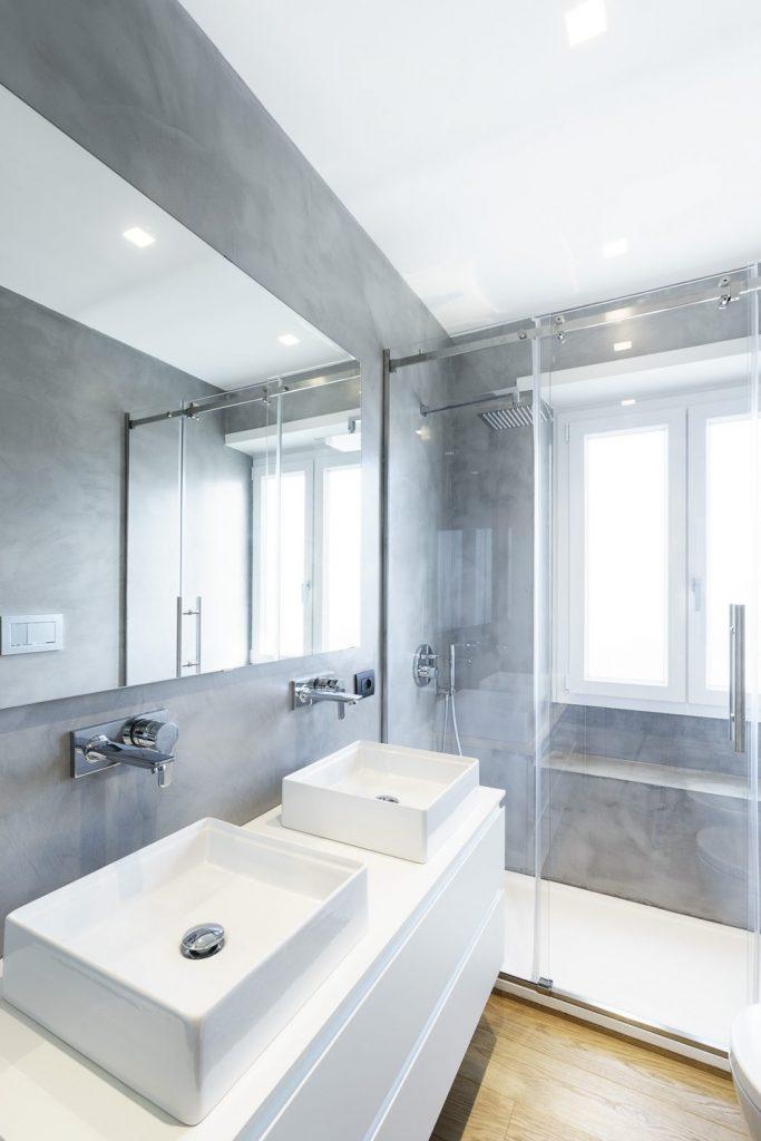 Un baño ideal minimalista