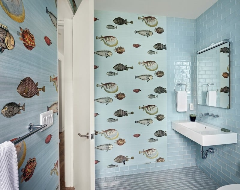Un diseño de baño moderno