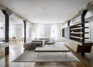 Un loft Tribeca Industrial en NY emana una vida tranquila y moderna