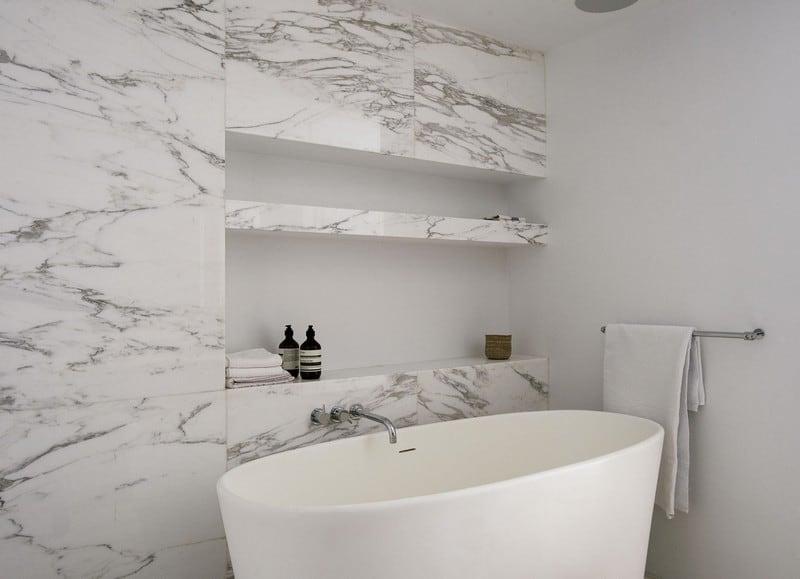 Un lindo baño relajante