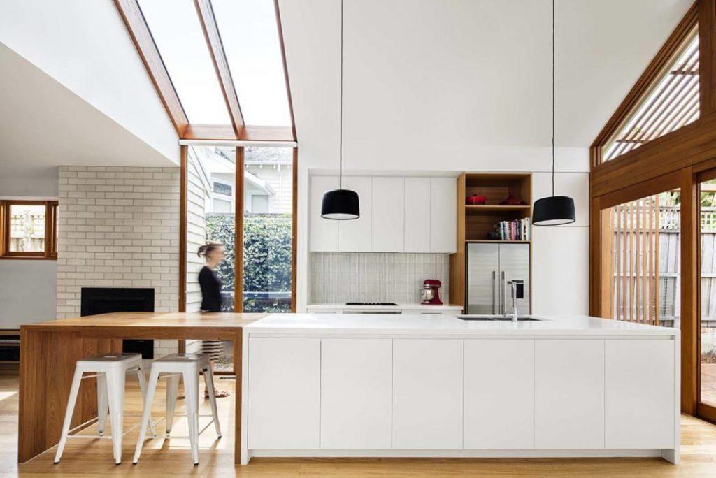 Bonita cocina moderna