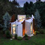 Casa inspirada en las alas de una mariposa con un lujo y modernidad impresionantes