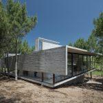 Casa L4. Escultura de hormigón en Argentina y diseño muy vanguardista