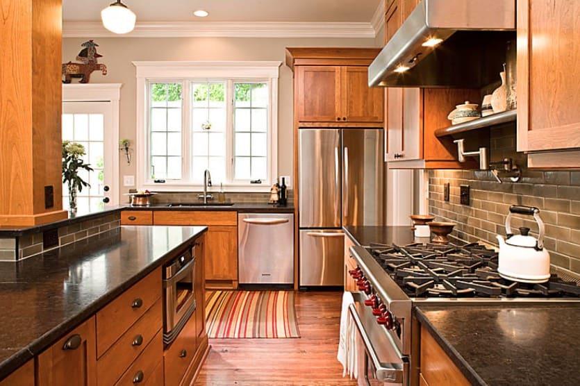 Moderna casas y cocina