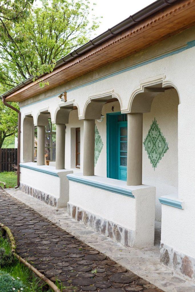 Una fachada moderna