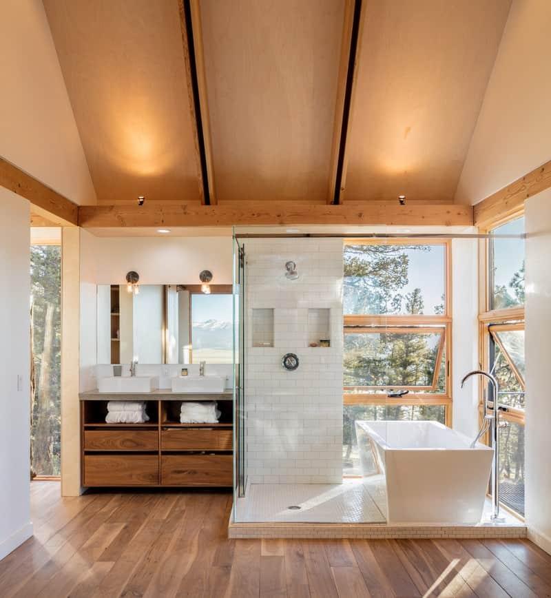 Casa de madera excelente