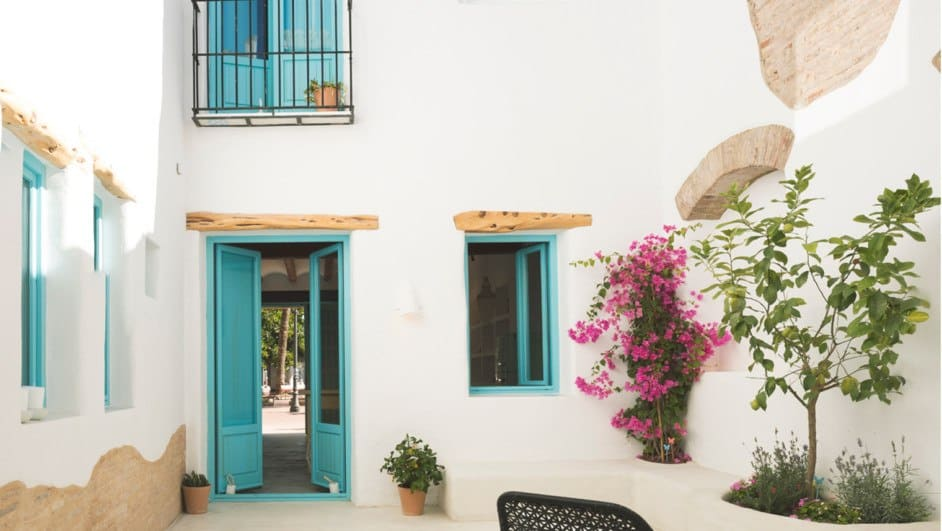 Un diseño sencillo de fachada