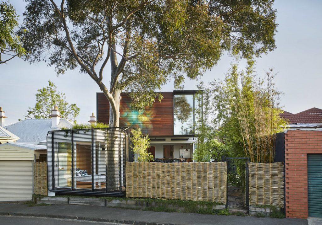 Diseño de  fachada moderno
