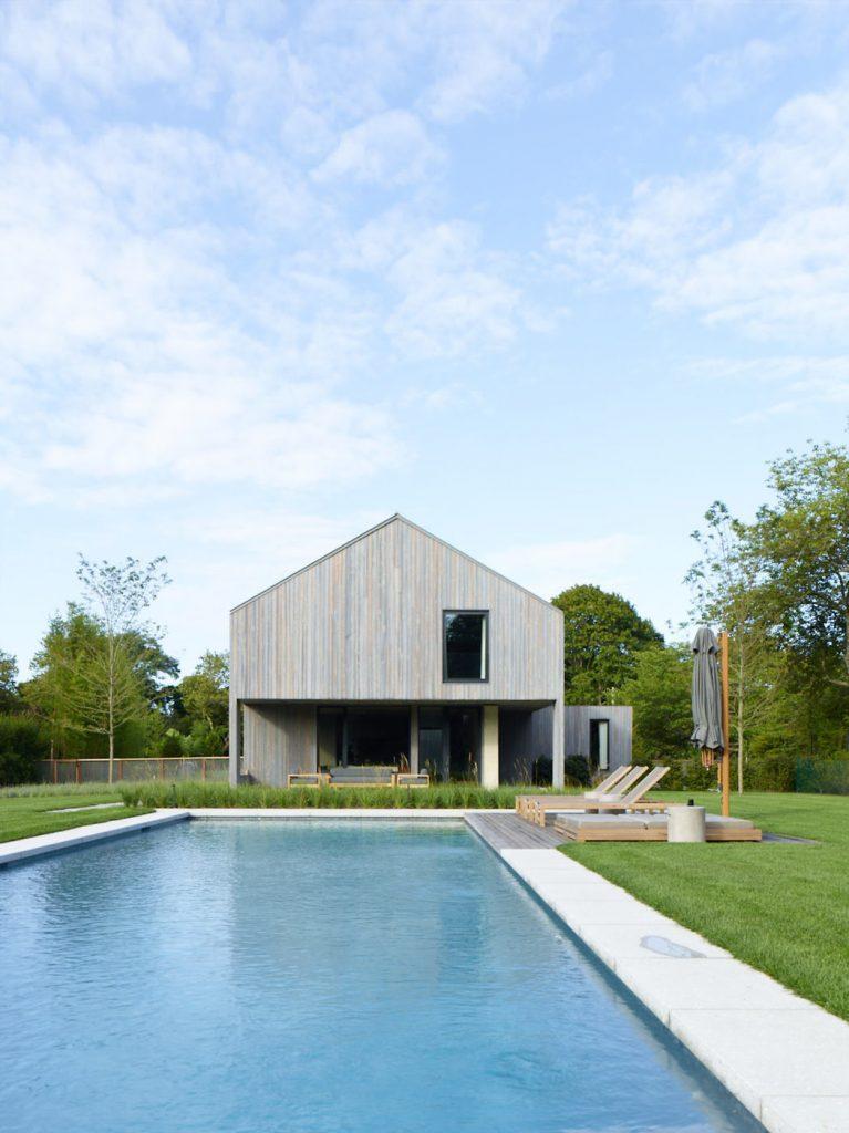 Diseño con piscina