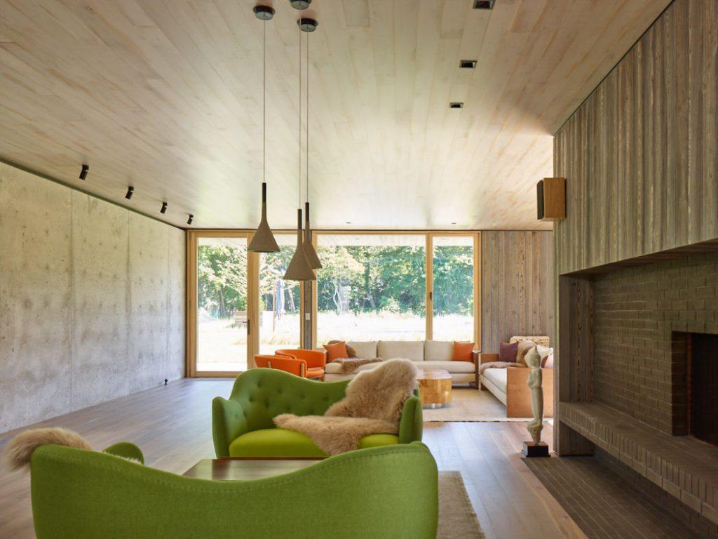 Moderno hogar y sala