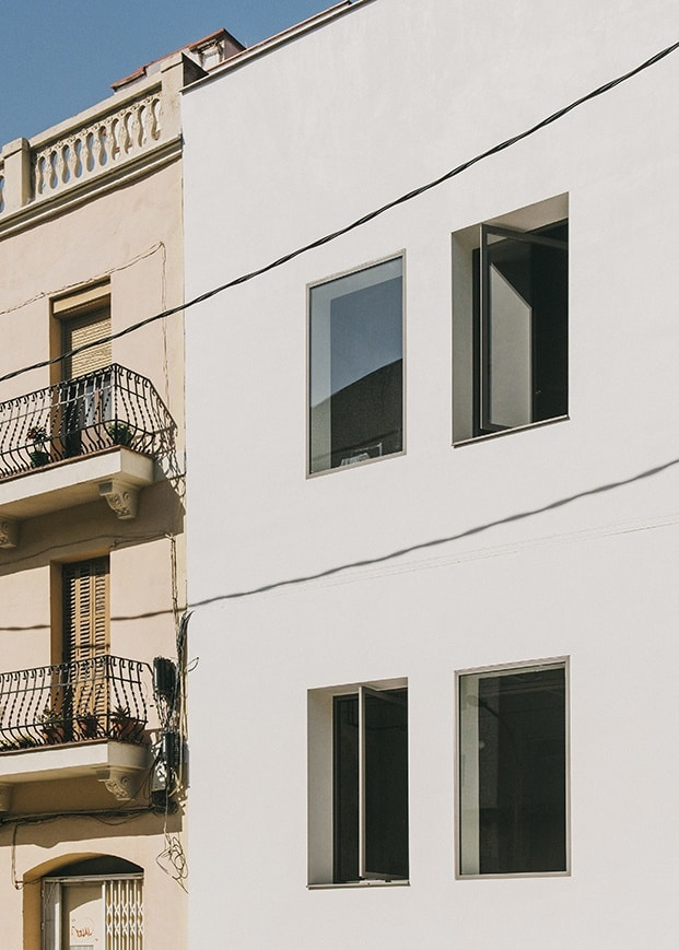 Una fachada antigua