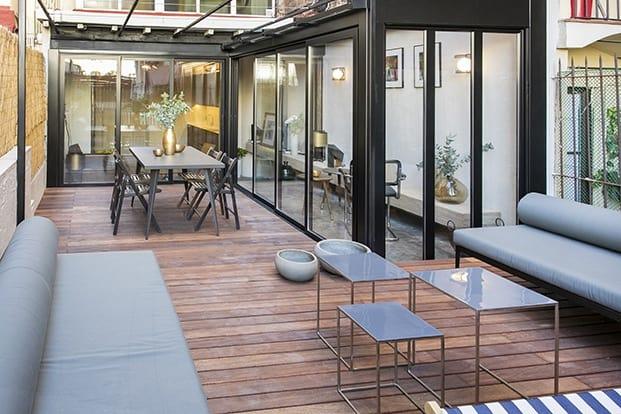 Moderno mobiliario