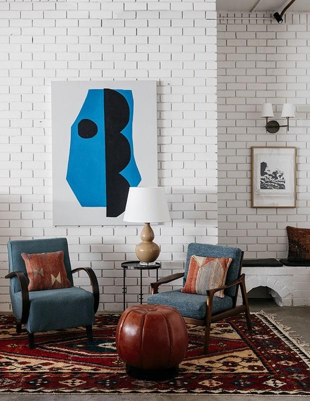 Moderno cuarto y diseño