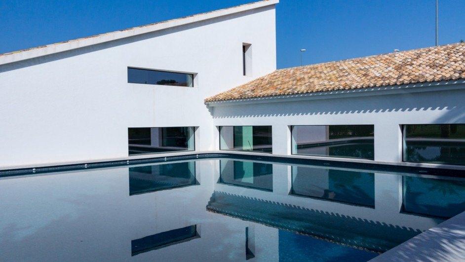 Una bonita piscina