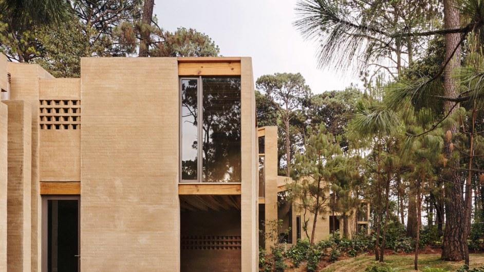 Un diseño moderno y en medio de la naturaleza