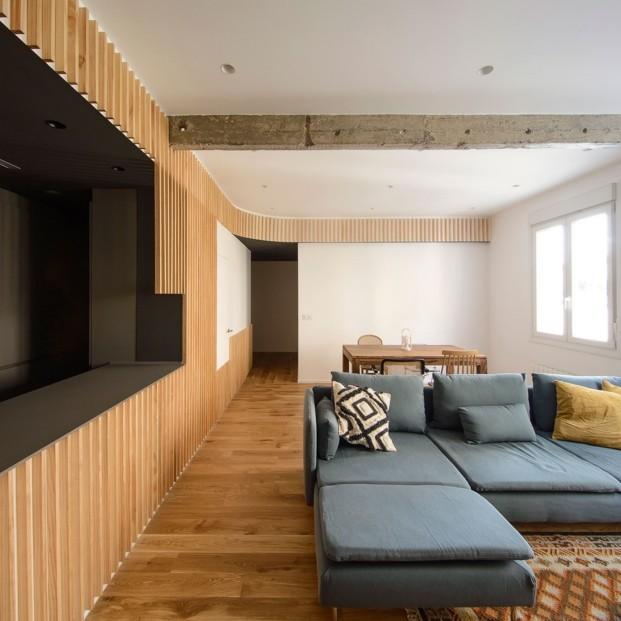 Un diseño moderno y abierto