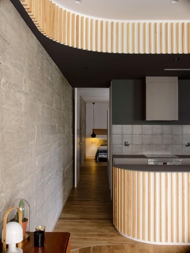El diseño de las paredes es perfecto